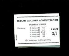 Tristan da Cunha SG Booklet #1b. Cat.345.00. Better Item