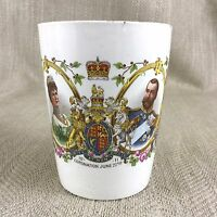 Antique Royal Commemorative Cup King George V Coronation Isle of Wight 1911