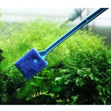 New listing Fish Tank Cleaning Brush Plastic Sponge Aquarium Glass Algae Cleaner