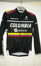 Nalini colombia cycling jersey long sleeve size 2