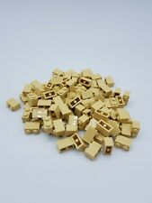 LEGO LOT 100 X BRICK 1X2 TAN REF 4173052 / 3004  *NEUF*