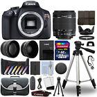 Canon EOS Rebel T6 DSLR Camera + 18-55mm IS II 3 Lens Kit + 32GB Best Value Kit