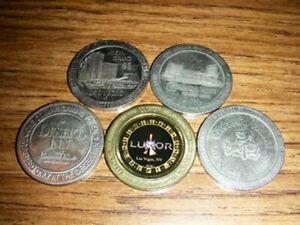 Vintage Las Vegas Casino Dollars
