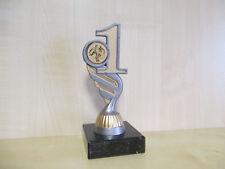 """Fußball Pokal """"1"""" Resin Figur 15 cm Turnier Kinder Pokale Trophäe mit Emblem"""