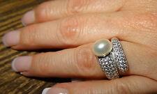 NEU Valero Pearls  Ring 925 Sterling Silber 52 16,6 Süßwasser Perle Valentinstag