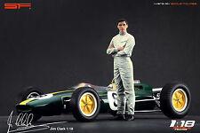 1/18 Jim Clark figure VERY RARE !!! for 1:18 Autoart Lotus Spark