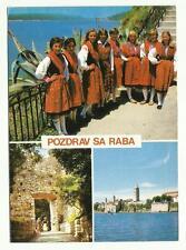 Pozdrav Sa Raba, Croatia postcard