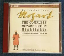 Introducing The Complete Mozart Edition - Highlights (Philips CD)