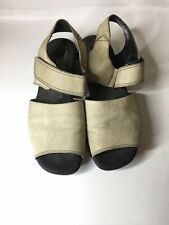 Ecco Womens Ankle Strap Sandal Size:38 Brown Leather
