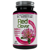 Rotklee Extrakt 180 Tabletten je 500mg Wechseljahre Hitzewallung Fat2Fit