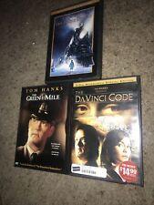 Tom Hanks 3 Dvd Lot The Green Mile The Da Vinci Code & The Polar Express