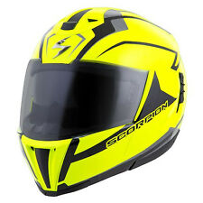 Scorpion EXO-900X Flip Up/Modular Motorcycle Helmet Neon Adult XS