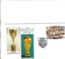 1986 mexico world cup commemorative cover featuring italy winners in 1934