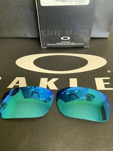 New Authentic Oakley Turbine Sapphire Polarized Replacement Lenses Sunglasses