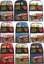 BABY CAR SEAT ORGANISER TODDLER CHILD KICK MAT UNIVERSAL TIDY TRAVEL STORAGE