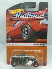 Hot Wheels Redline Series Olive Green Bone Shaker 7 of 18