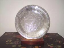 Egyptian Hallmark Silver Tray weight 204 grams