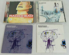 4 x Radiohead Audio CDs. The Bends OK Computer Paranoid Android CD 1 & 2