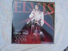 ELVIS CALENDAR 2008 OFFICIAL elvisly yours New & Sealed still