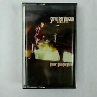 Stevie Ray Vaughan Cassette Couldn't Stand The Weather