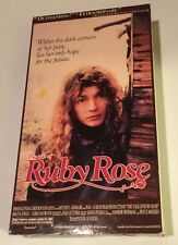 The Tale of Ruby Rose 1988 VHS Roger Scholes RARE! Not Available on DVD in U.S.