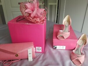 Jaques Vert Wedding accessories, bag fascinator and shoes