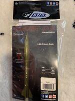 Estes Mini Honest John Flying Model Rocket Kit Skill Level 1 STEM Learning 2446