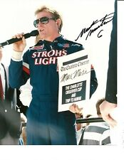 Autographed Mark Martin NASCAR Auto Racing Photograph