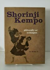 Shorinji Kempo Philosophy and Techniques. 1st edition book.