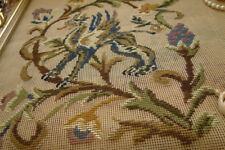 Chair Upholstery HUGE TRAMME Needlepoint Canvas Dragon & Scrolls