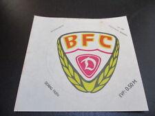 090616 original DDR Oberliga Aufkleber BFC Dynamo aus DDR Zeiten
