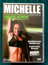 MICHELLE BRIDGES PROJECT EXTREME – DVD R-ALL, LIKE NEW, FREE POST IN AUSTRALIA