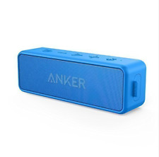 Anker SoundCore 2 Portable Bluetooth Wireless Speaker Bass  Playtime IPX5 blue