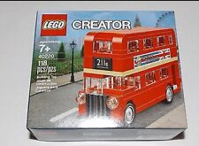 LEGO 40220 CREATOR London DOUBLE DECKER BUS Set Nuovo di zecca!!!