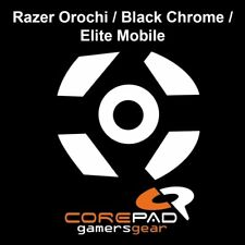 Corepad Skatez Replacement Mouse Feet Razer Orochi Black Chrome Elite Mobile