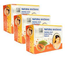 H20 Jours Naturel Papaya Beauty Soap 250g (3 Pack)