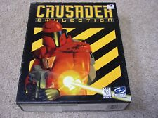 PC CD-ROM Crusader Collection video game - big box