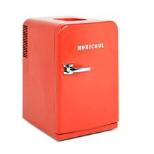 Sweden Dometic Mobicool 15L, 507oz Mini Portable Refrigerator Red 220V AC,12V DC