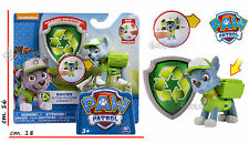 Paw Patrol Action Pup and Badge - Rescue Marshall