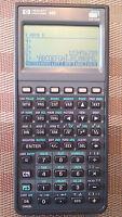 HP Hewlett Packard 48G Graphing Calculator, Case, PDF Manuals on CD - VGC! AXL