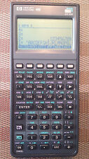 HP Hewlett Packard 48G Graphing Calculator, Case, PDF Manuals on CD - VGC! AXL