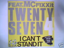 "TWENTY 4 SEVEN I can't stand it 12"" ITALY 3 TRACKS"