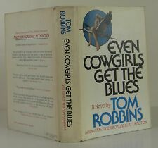 TOM ROBBINS Even Cowgirls Get the Blues SIGNED FIRST EDITION