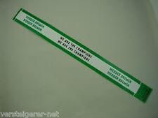 5 x WERDER BREMEN Aufkleber lang für Nummerntafel,Nummernschilder - Aufkleber