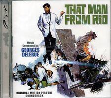 """Georges Delerue """"L'HOMME DE RIO"""" expanded 70min score 1000 ltd CD SEALED"""
