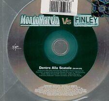MONDO MARCIO FINLEY CD SINGLE Promo 2006  1 traccia  DENTRO ALLA SCATOLA
