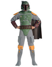 "Star Wars Mens Boba Fett Costume Style 2, Std,CHEST 44"",WAIST 30-34"", LEG 33"""