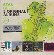 Stan Getz / West Coast Jazz, In Stockholm, Steamer, Cool Sounds ua (5 CDs,NEU!)
