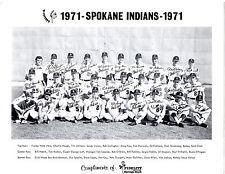 1971 Spokane Indians Team 8X10 Photo Pcl Dodgers Cey Rau Hough Lopes Cey Joshua