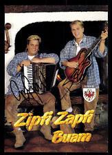Zipfi Zapfi Buam Autogrammkarte Original Signiert ## BC 48143